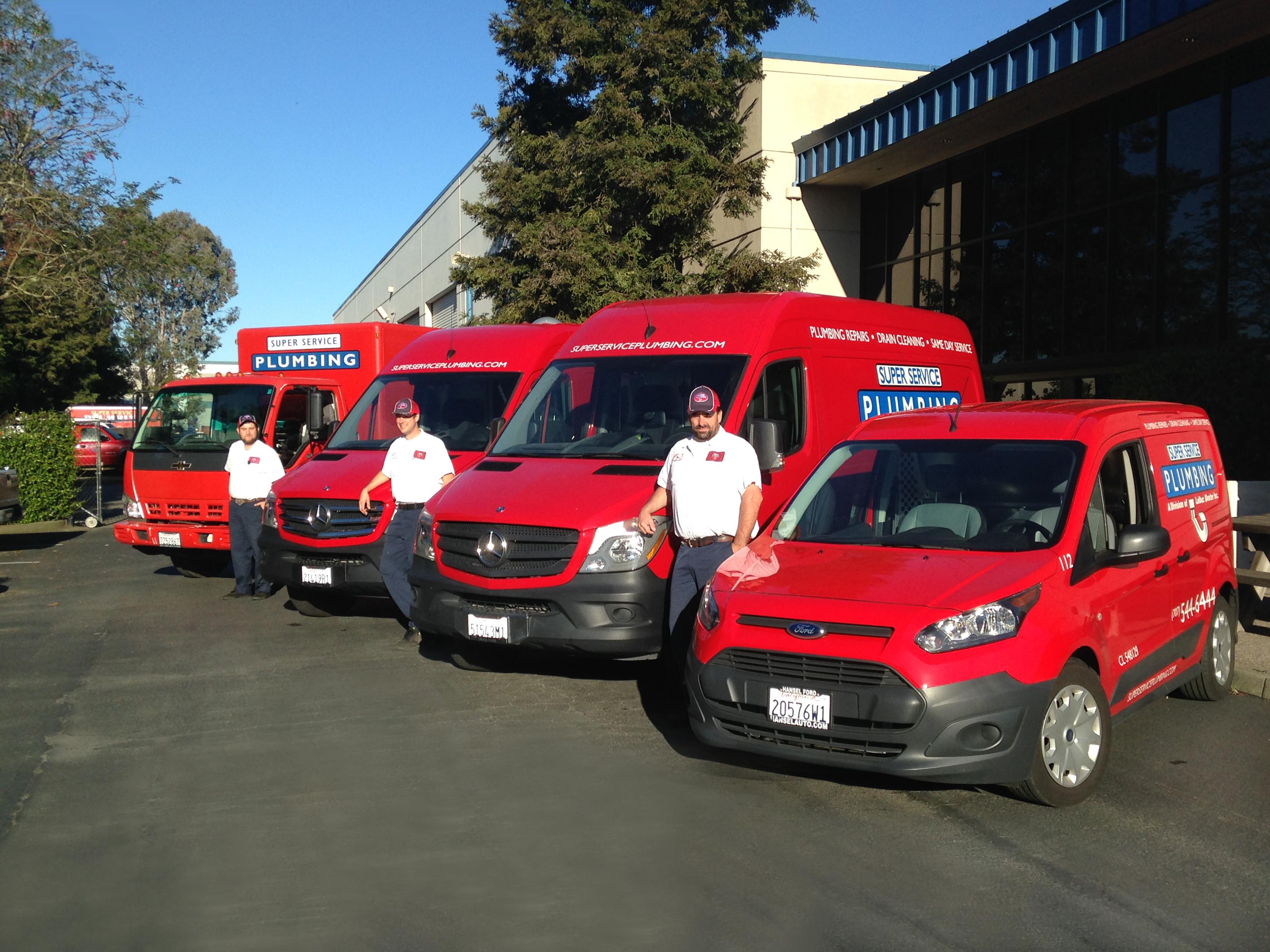 Plumbing Company Trucks