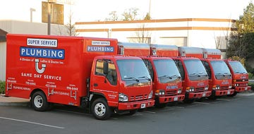 plumbing contractor vehicles in Santa Rosa