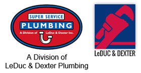Super Service Plumbing is a Division of LeDuc & Dexter Plumbing