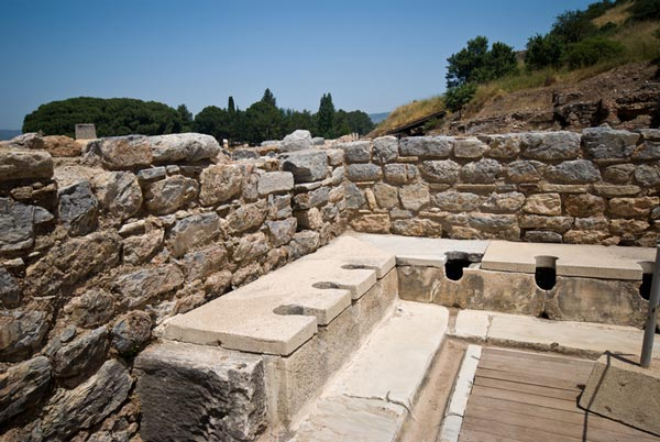 Ancient plumbing and waste removal